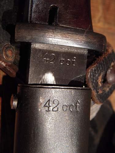 K98 Bayonets.