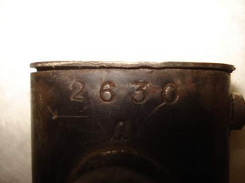 "German dagger / bayonet code ""41 asw"""