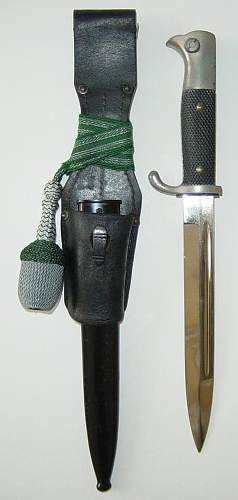 Private purchase parade bayonet