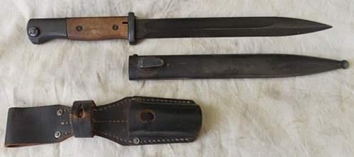 jwh 44 K98 bayonet...