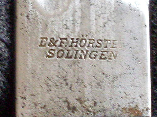 K98 inscribed dress bayonet??