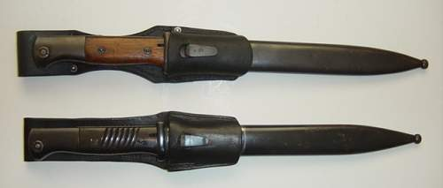 Click image for larger version.  Name:K98 bayonets..jpg Views:1394 Size:140.1 KB ID:3988