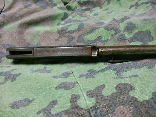 My first TR blade k98 bayo 1939 Coppel GmbH