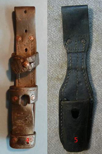 K98 bayonet with special frog ?