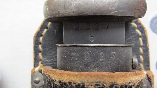 2 number matching K98 bayonets