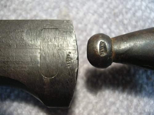 Oak leave engraved K98 Bajonet