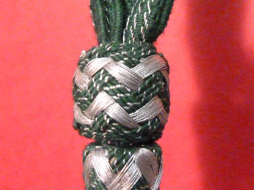 Knots and Portepee of the Wehrmacht / Heer and Marine