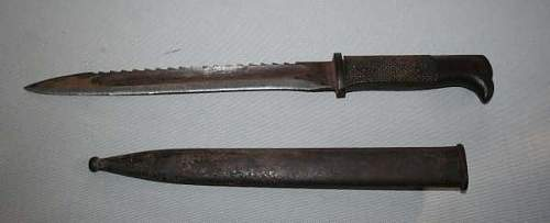 Need some help getting info about a bayonet.