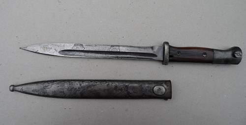Need all info i can get regarding thise bajonets;