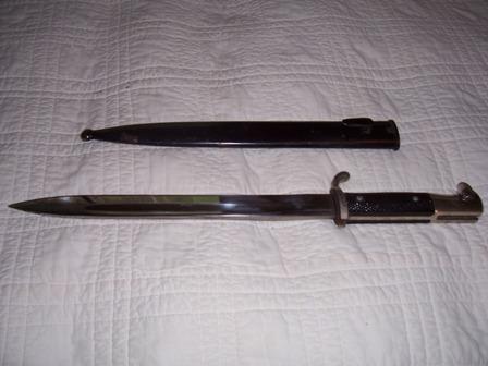 I have two KAR 98 daggers