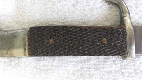 Help on rough price... Bayonet small blade by A.w jr solingen ...