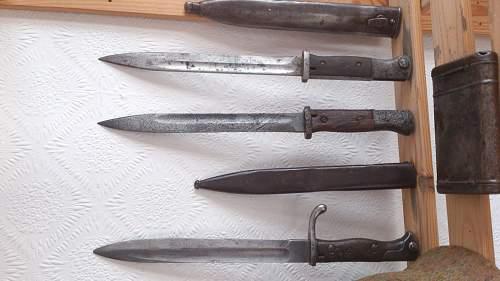 My first bayonet