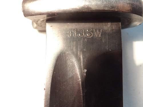 My Bayonet K98
