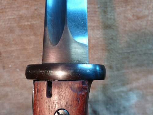 K98 Bayonet post war