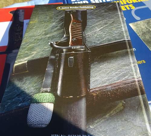 K98 Bayonet reference
