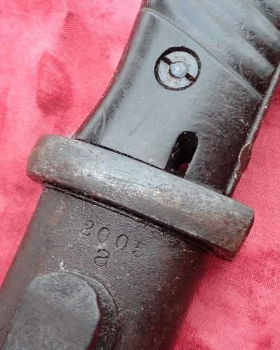 s 84/98 Nice Blade Dated 42 COF