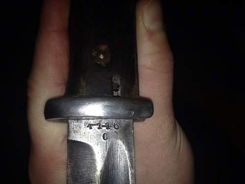 Bayonet fake or not ?