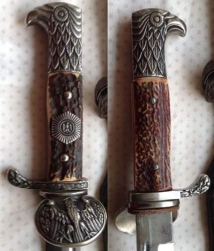 Clamshell dress bayonet opinions