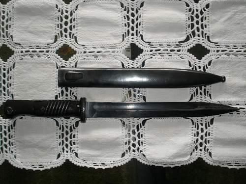 Help with various K98 bayonet markings?