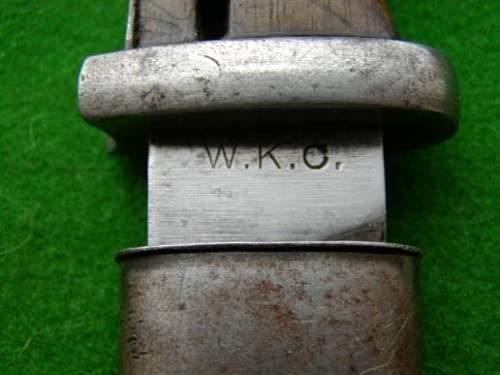 K98 Bayonet?