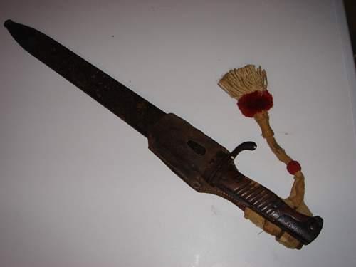 ww1 or ww2 ? knife/bayonet