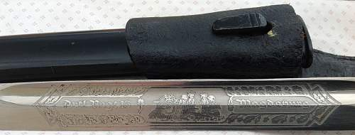 Etched Bayonet