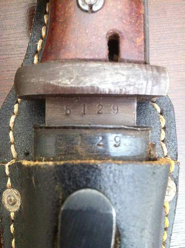 Mint k98 bayonet vet bring back