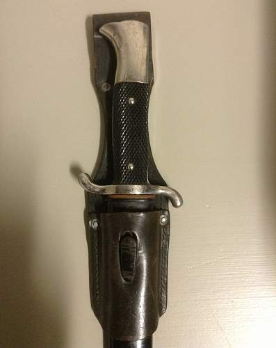 K98 bayonet...pawn shop find