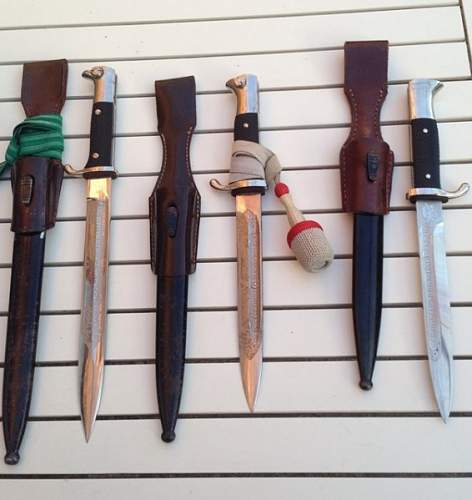 Dress bajonets with motivs , good or bad ?