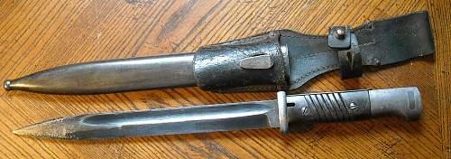 My 1st k98 bayonet