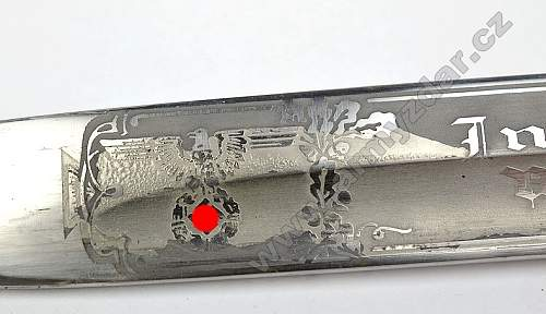 KS98 dress engraved bayonet, original?