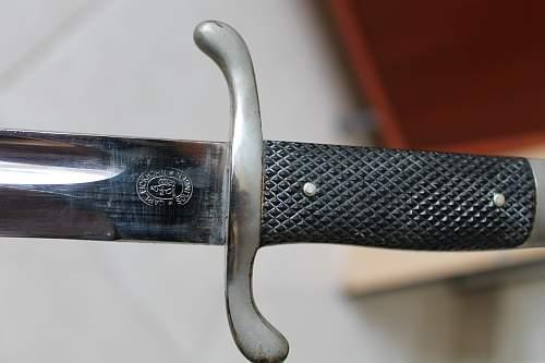 Long Military bayonet, please help to ID