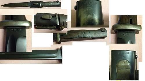 1937 Bayonet