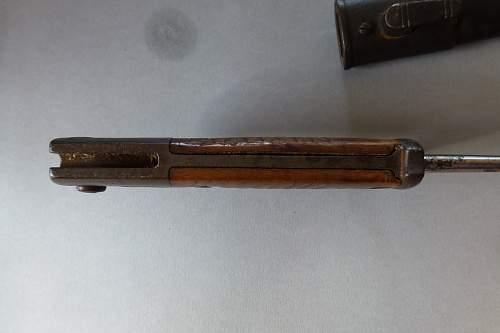 SeitenGewehr 1898 alter Art
