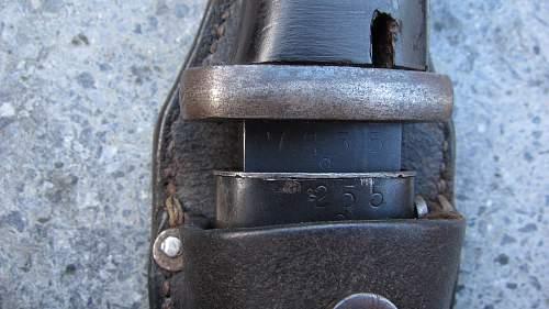 K98 bayonet E.Pack