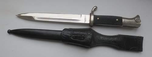 KS98 Bayonet rare?
