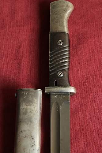 k98 bayonet