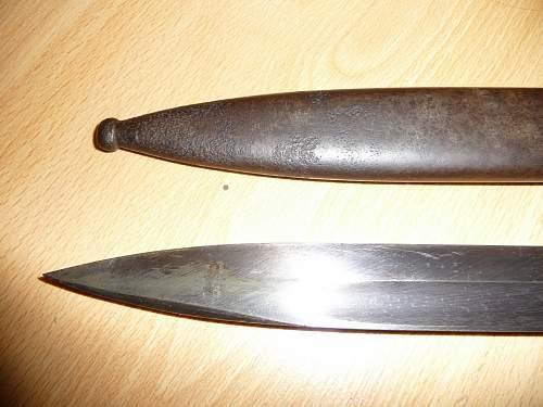 K98 Bayonet with wierd matching #