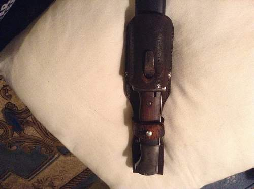 K98 Bayonet find and opinions