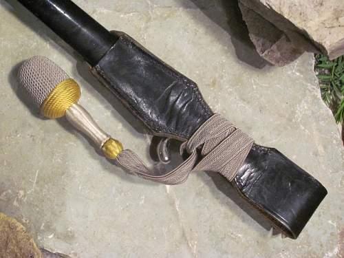KS98 Short Bayonet - Puma Rig with Portepee