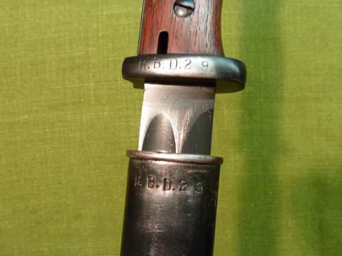 Reichswehr bayonets