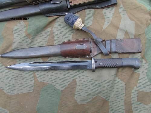 K98 bayonet for LW