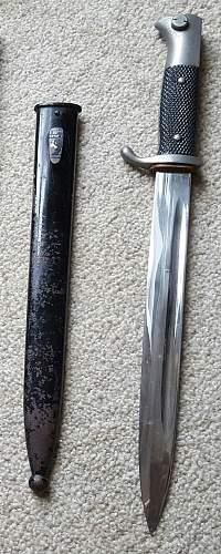 German dress bayonet  real or fake