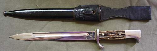 Dress bayonet for Review