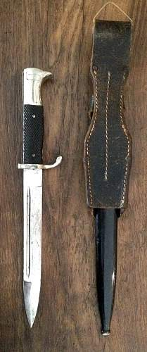 Dress K/98 bayonet