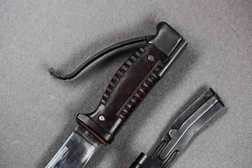 Seitengewehr 42 Bayonet, Real or Fake?