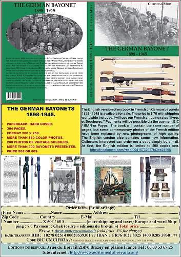 Click image for larger version.  Name:publicité couverture livre german bayonet 1898 1945 version anglaise site.jpg Views:160 Size:217.3 KB ID:964977