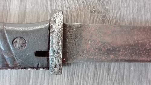 My first K98 Bayonet