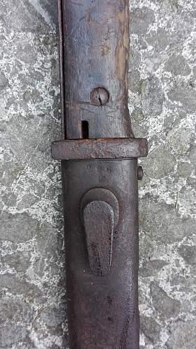 K98 bajonett Flea markt find