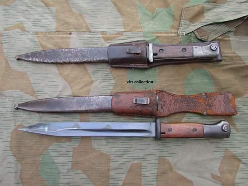K98 police bayonet
